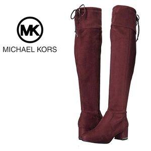 NEW Michael Kors Jamie Damson Over the Knee Boots